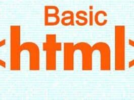 Basics HTML for Beginners