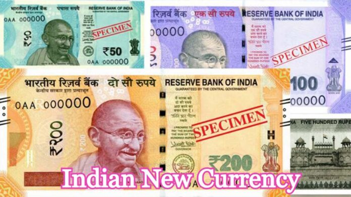 Indian New Currency