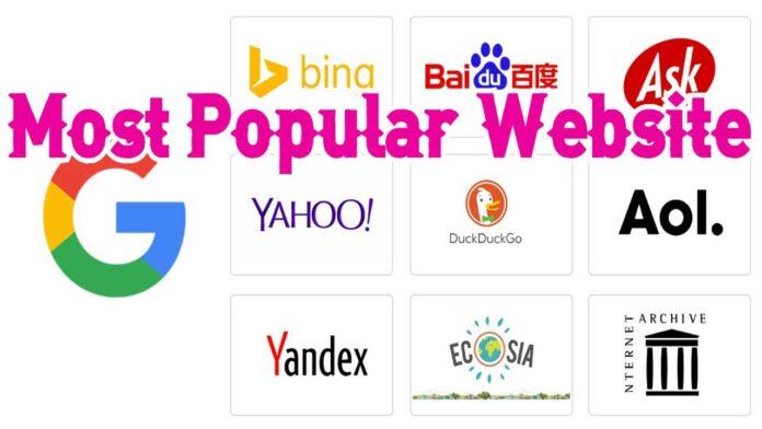 Most Popular Website