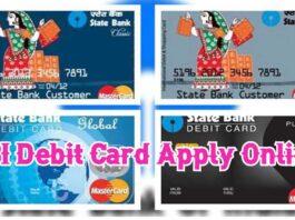 SBI Debit Card Apply Online