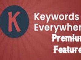 Keywords Everywhere Premium Features