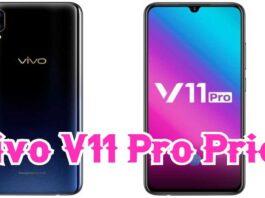 Vivo V11 Pro Price