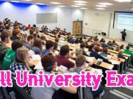 All University Exam 2020
